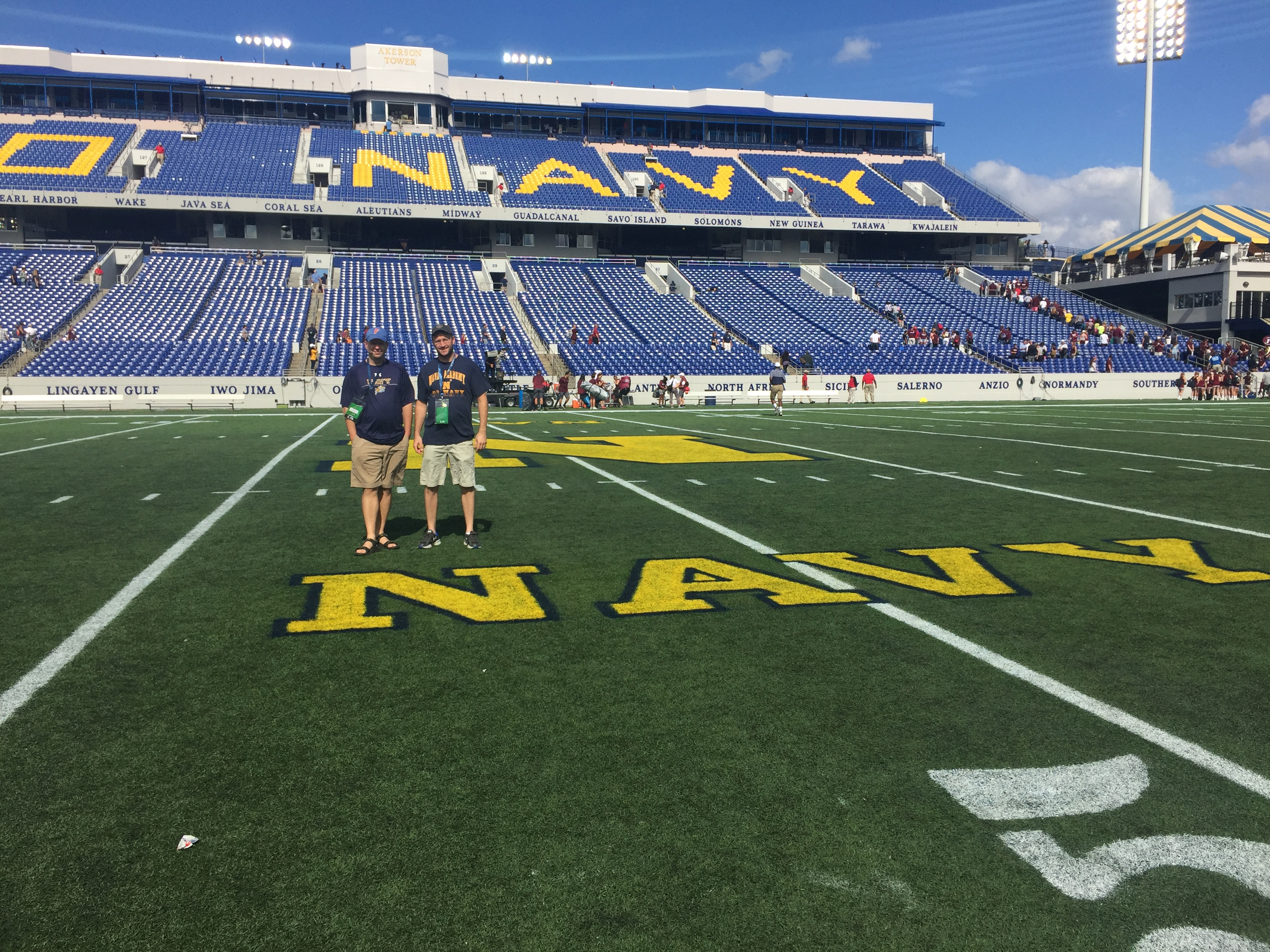 Game 33: Fordham Rams @ Navy Midshipmen